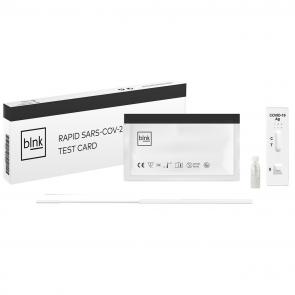 BLNK COVID-19 Antigen Sneltest, voorin Neus/Neus/Keel, 1-pack