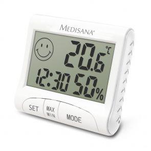 Medisana Digitale thermohygrometer HG 100, Wit